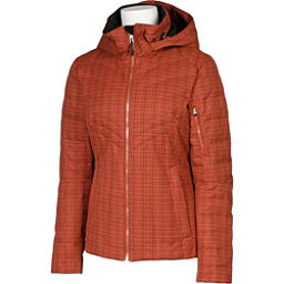 Karbon Amper Womens Insulated Ski Jacket, Persimmon Tweed, 256