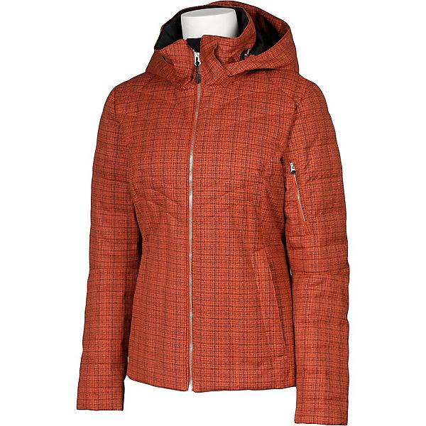 Karbon Amper Womens Insulated Ski Jacket, Persimmon Tweed, 600