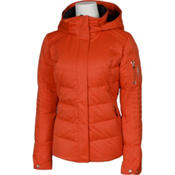 Karbon Ion Womens Insulated Ski Jacket, Persimmon, medium