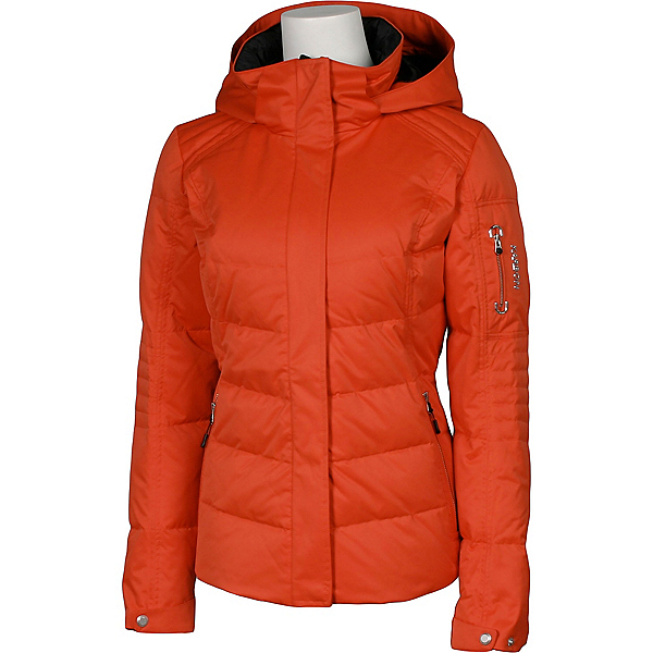 Karbon Ion Womens Insulated Ski Jacket, Persimmon, 600