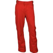 Karbon Rock Mens Ski Pants, Red-Charcoal, medium
