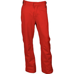Karbon Rock Mens Ski Pants, Red-Charcoal, 256