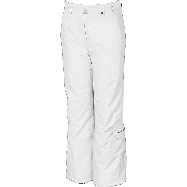 Karbon Luna Girls Ski Pants, Arctic White, 600