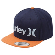 Hurley One and Only Snapback Hat, Vivid Sky, medium