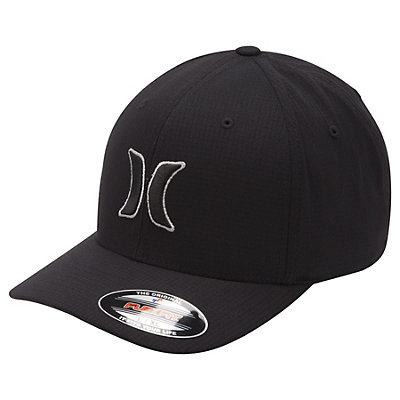 Hurley Black Suits Hat, Cool Grey, viewer