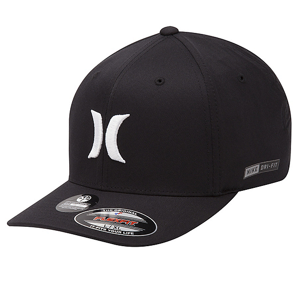 Hurley Dri-Fit One And Only Hat, Black-White, 600