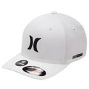 Hurley Dri-Fit One And Only Hat, White, medium
