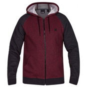 Hurley Getaway 2.0 Zip Mens Hoodie, Gym Red, medium