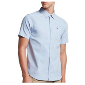 Hurley Dri-Fit One and Only Mens Shirt, Blue Oxford, medium