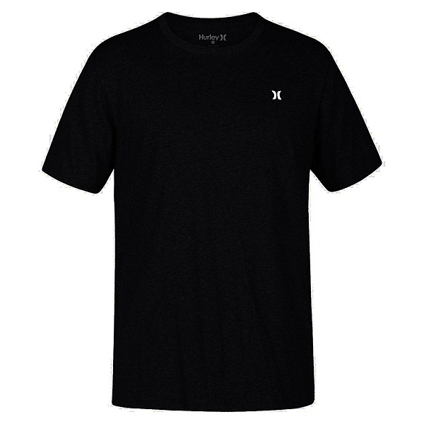 Hurley Icon Dri-Fit Mens T-Shirt, Black, 600