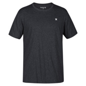 Hurley Icon Dri-Fit Mens T-Shirt, Charcoal Heather, medium