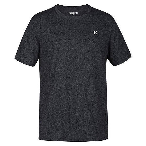 Hurley Icon Dri-Fit Mens T-Shirt, Charcoal Heather, 600