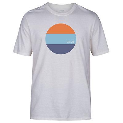 Hurley Circular Block Mens T-Shirt, Sail, viewer