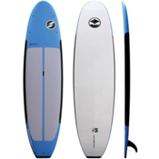 Boardworks Surf B-Ray 11ft 6in Stand Up Paddleboard Package, Blue-Blue-White, medium
