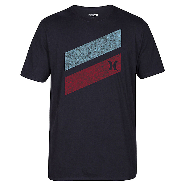 Hurley Icon Slash Push Through Mens T-Shirt, , 600