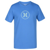 Hurley Circle Icon Dri-Fit Mens T-Shirt, Light Photo Blue, medium