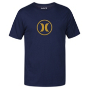 Hurley Circle Icon Dri-Fit Mens T-Shirt, Obsidian, medium