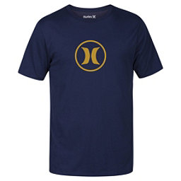 Hurley Circle Icon Dri-Fit Mens T-Shirt, Obsidian, 256