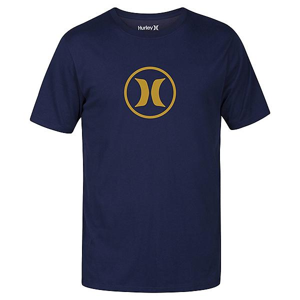 Hurley Circle Icon Dri-Fit Mens T-Shirt, Obsidian, 600