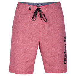 Hurley One And Only Heather 2.0 Mens Board Shorts, Gym Red, 256