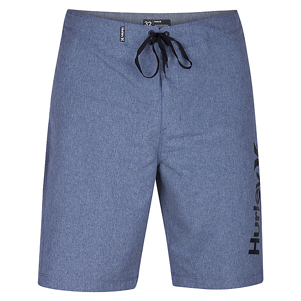 Hurley One And Only Heather 2.0 Mens Board Shorts, Obsidian, 600