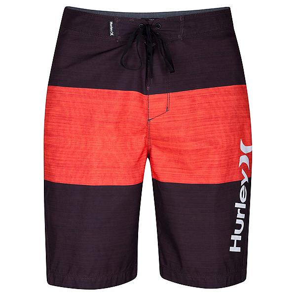 Hurley Bahia Mens Board Shorts, Mahogany, 600
