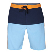 Hurley Phantom Beachside Outtake Mens Board Shorts, Vivid Sky, medium