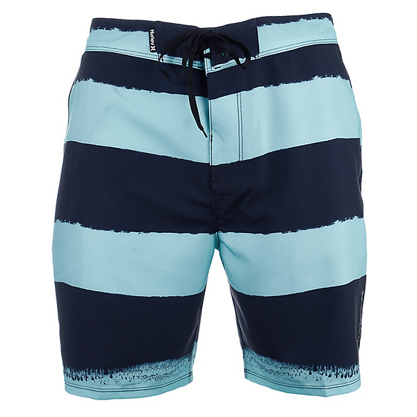 Hurley Phantom Beachside Brother Mens Board Shorts, Obsidian, 600