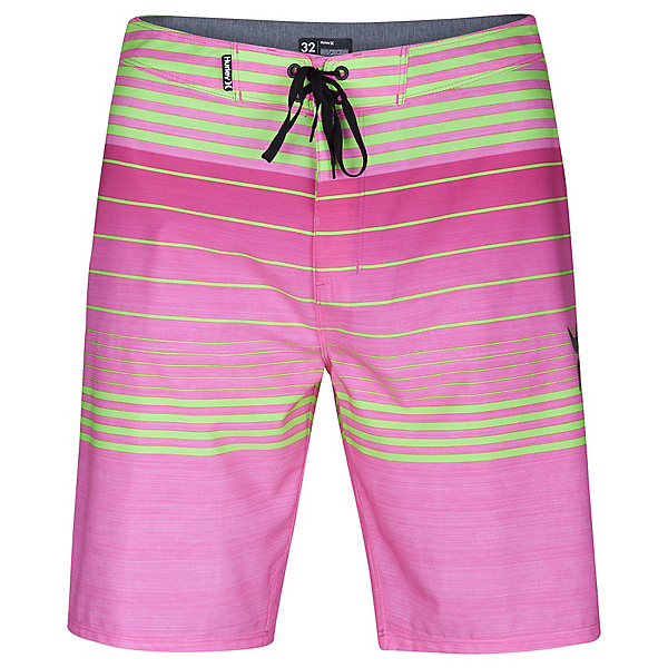 Hurley Phantom Peters Mens Board Shorts, Neon Pink, 600