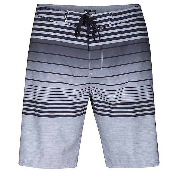 Hurley Phantom Peters Mens Board Shorts, Black, 600
