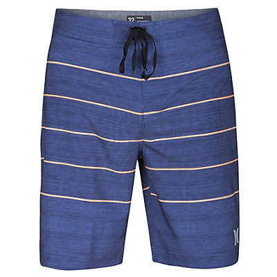Hurley Phantom Pinline Mens Board Shorts, Blue Moon, viewer