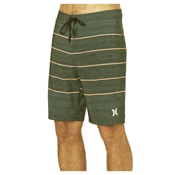 Hurley Phantom Pinline Mens Boardshorts, Palm Green, medium
