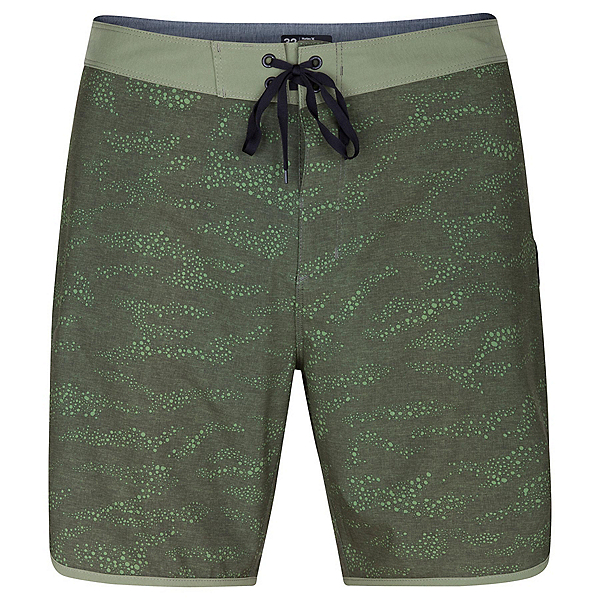 Hurley Phantom Outcast Mens Board Shorts, Cargo Khaki, 600