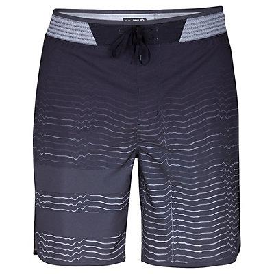Hurley Phantom Block Party Hyperweave Speed Mens Board Shorts, Black, viewer