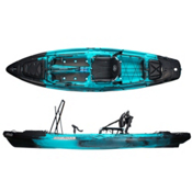 Jackson Kayak Big Rig Kayak 2017, Blue Fin, medium