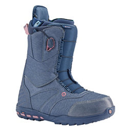 Burton Ritual Womens Snowboard Boots, Debby Does Denim, 256