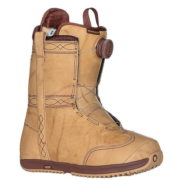 Burton X Frye Womens Snowboard Boots, Stitching Horse, 600
