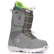 Burton Moto Asian Fit Snowboard Boots, Gray-White, medium