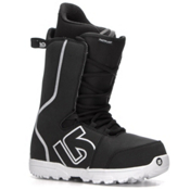 Burton Fastplant Snowboard Boots, Black-White, medium
