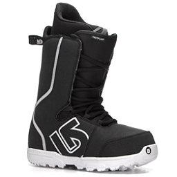 Burton Fastplant Snowboard Boots, Black-White, 256
