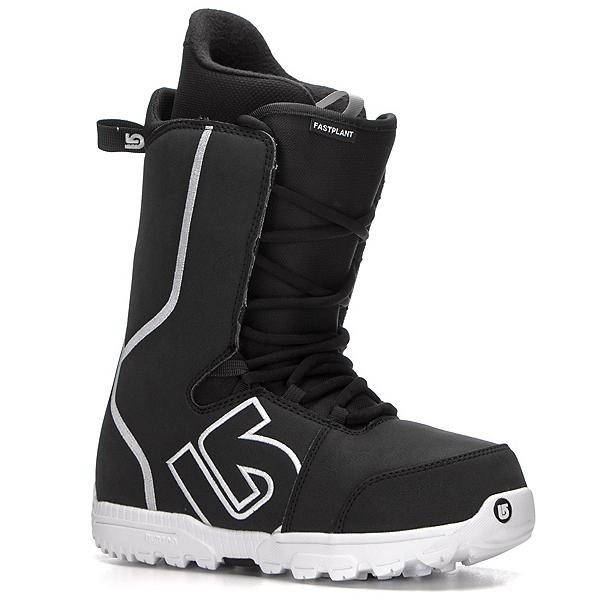 Burton Fastplant Snowboard Boots, Black-White, 600