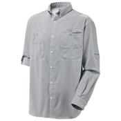 Columbia PFG Tamiami II Long Sleeve Mens Shirt, Cool Grey, medium