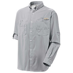 Columbia PFG Tamiami II Long Sleeve Mens Shirt, Cool Grey, 256