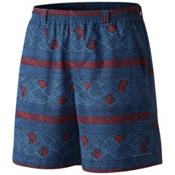 Columbia PFG Backcast II Mens Hybrid Shorts, Skyler Cross Hatch Stripe, medium