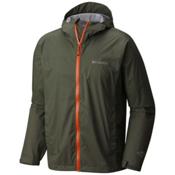 Columbia Evapouration Mens Jacket, Cypress-Valencia, medium