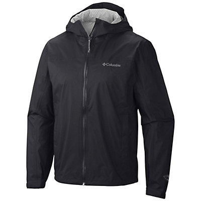 Columbia Evapouration Mens Jacket, Black, viewer