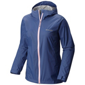 Columbia Evapouration Womens Jacket, Bluebell-Cherry Blossom, medium