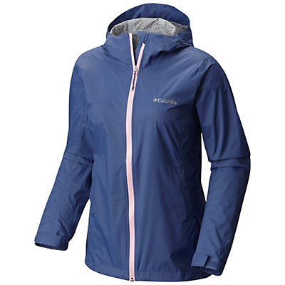 Columbia Evapouration Womens Jacket, Bluebell-Cherry Blossom, viewer