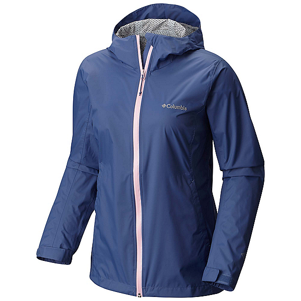 Columbia Evapouration Womens Jacket, Bluebell-Cherry Blossom, 600