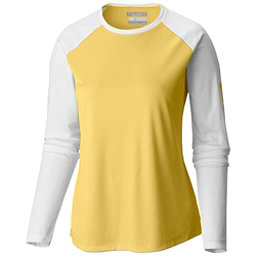 Columbia PFG Tidal Tee II Long Sleeve Womens Shirt, Sunlit-White, 256